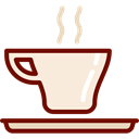 Coffee, tea, commerce, coffee cup, hot drink, Coffee Shop Black icon