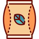 food, infusion, hot drink, herbs, Relaxing, Tea Bag Khaki icon