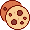 food, Dessert, cookies, sweet, Bakery Khaki icon