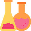 science, education, Chemistry, chemical, Test Tube, Flasks Icon
