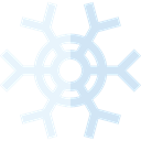 weather, Snow, nature, winter, Cold, snowflake Black icon