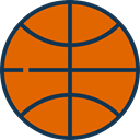 Basketball, team, equipment, sports, Sport Team Chocolate icon