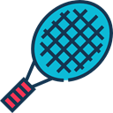 sport, tennis, equipment, sports, racket DarkSlateGray icon