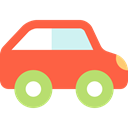 Car, transportation, transport, vehicle, Toy, Automobile Tomato icon