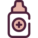Healthcare And Medical, Droplet, drops, Medication, Eye Drops, medical, Eye, drop, medicine DarkSlateGray icon