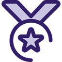 award, medal, winner, Champion, Sports And Competition MidnightBlue icon