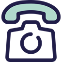 Communications, phone call, telephone, interface, technology, Communication, Conversation MidnightBlue icon