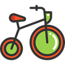sport, transportation, transport, vehicle, sports, Bike, Bicycle, cycling, exercise DarkSlateGray icon