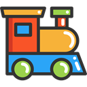 toys, transport, Toy, train, children, Locomotive, trains, Railroad, Baby Toy, Kid And Baby DarkSlateGray icon