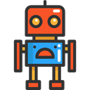 toys, metal, robot, Toy, technology, children, metallic, Baby Toy, Robots, Kid And Baby DarkSlateGray icon