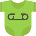 Body, fashion, Baby Clothing, Baby Clothes YellowGreen icon