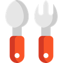 Fork, Restaurant, spoon, Cutlery, Tools And Utensils, Food And Restaurant Black icon
