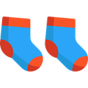 sock, socks, fashion, babies, Baby Clothing, Baby Clothes, clothing DodgerBlue icon