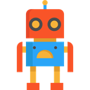 toys, metal, robot, Toy, technology, children, metallic, Baby Toy, Robots, Kid And Baby Black icon