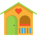 Playground, children, childhood, Lodge, Kid And Baby Goldenrod icon