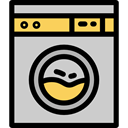 Laundry, Tools And Utensils, House Things, tool, machine, Clothes, electronics, wash, washing, house LightGray icon