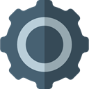 Gear, settings, miscellaneous, gears, configuration, cogwheel, Tools And Utensils DarkSlateGray icon