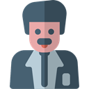 Man, people, user, Avatar, job, teacher, physician, scientist, profession, Occupation, Professions And Jobs Icon