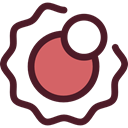 planet, science, sun, education, Astronomy, solar system Maroon icon