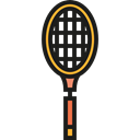 sports, racket, Sportive, Sports And Competition, tennis Black icon