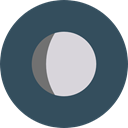 full moon, Moon Phase, Moon, weather, nature, meteorology, Astronomy DarkSlateGray icon