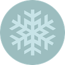 weather, Snow, nature, winter, Cold, snowflake DarkGray icon