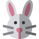 Bunny, zoo, Animals, rabbit, mammal, Wild Life, Animal Kingdom DarkGray icon