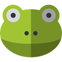 frog, Animals, wildlife, Amphibian, Animal Kingdom OliveDrab icon