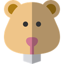 hamster, Animals, rodent, wildlife, Animal Kingdom BurlyWood icon