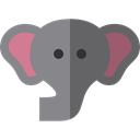 Animals, Wild Life, Animal Kingdom, elephant, zoo Gray icon