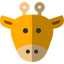 zoo, Animals, Giraffe, mammal, wildlife, Animal Kingdom Icon