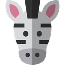 zoo, Animals, Zebra, mammal, wildlife, Animal Kingdom DarkGray icon