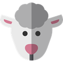 Animal Kingdom, Sheep, Animals, mammal, wildlife DarkGray icon