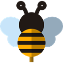 insect, fly, Bee, Animals, Animal Kingdom Black icon