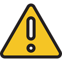 warning, Attention, Error, notice, signs, Signaling Goldenrod icon