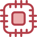 Chip, processor, Cpu, technology, electronic, electronics Sienna icon