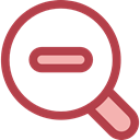 detective, Loupe, Zoom out, Tools And Utensils, Edit Tools, search, magnifying glass, zoom Sienna icon