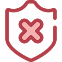 secure, security, Antivirus, shield, defense Sienna icon