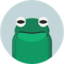 frog, Animals, wildlife, Amphibian, Animal Kingdom LightGray icon