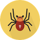 insect, spider, Animals, Arachnid, Animal Kingdom SandyBrown icon