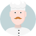 people, user, Cook, Restaurant, kitchen, Chef, Cooker, Professions And Jobs LightGray icon