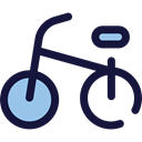 sport, transportation, transport, vehicle, sports, Bike, Bicycle, cycling, exercise MidnightBlue icon