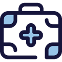 doctor, medical, hospital, first aid kit, Health Care, Healthcare And Medical MidnightBlue icon