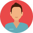 profession, Occupation, Professions And Jobs, people, user, medical, woman, Assistant, Avatar, job, Nurse Tomato icon