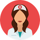 Nurse, profession, Occupation, Professions And Jobs, people, user, medical, woman, Assistant, Avatar, job Tomato icon