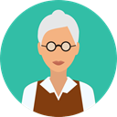 Occupation, Professions And Jobs, teacher, physician, scientist, profession, user, woman, Avatar, job, people LightSeaGreen icon