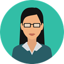 profession, Occupation, Professions And Jobs, job, teacher, physician, scientist, people, user, woman, Avatar LightSeaGreen icon