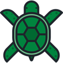 turtle, Animals, Wild Life, Animal Kingdom, Animal, zoo DarkSlateGray icon