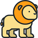 Animal Kingdom, zoo, Animals, mammal, Wild Life, lion Khaki icon