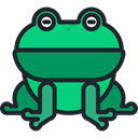 Animal, frog, zoo, Animals, Wild Life, Animal Kingdom DarkSlateGray icon